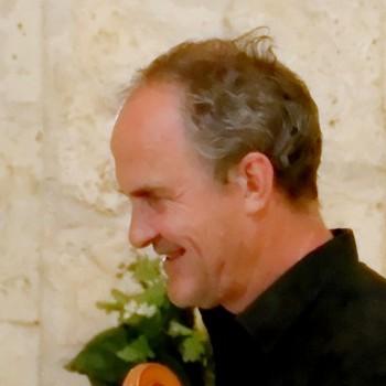 Bernard Vandenbroucque violoncelliste dans l'ensemble LA BADINERIE