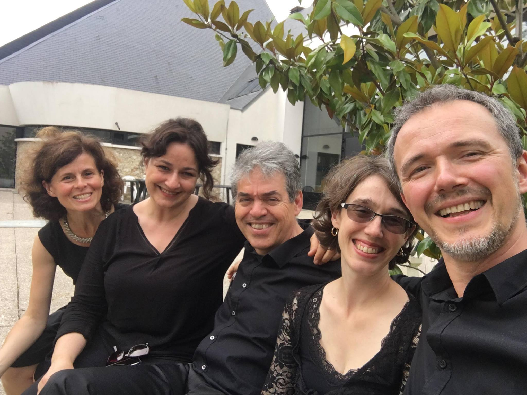 """Concert le samedi 29 juin 2019, 20h45 au Temple de Versailles avec le quatuor """"Midi-Minuit"""""""